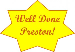 well done preston