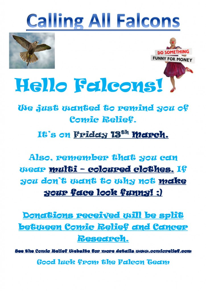 Comic Relief FALCON